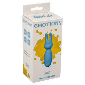 Мини вибратор Emotions Funny Bunny Blue